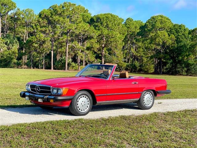 1989 Mercedes-Benz 560SL (CC-1504819) for sale in Boca Raton, Florida