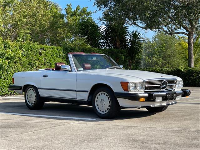 1989 Mercedes-Benz 560SL (CC-1504820) for sale in Boca Raton, Florida