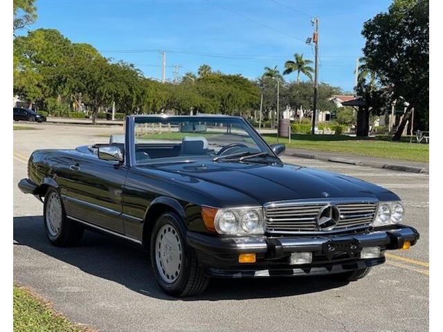 1987 Mercedes-Benz 560SL (CC-1504825) for sale in Boca Raton, Florida