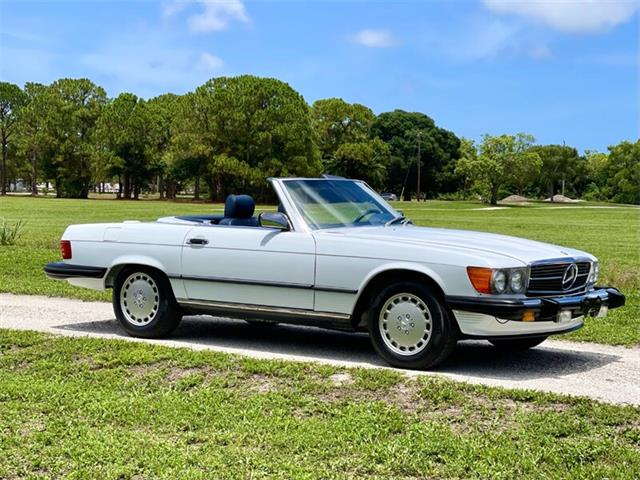 1988 Mercedes-Benz 560SL (CC-1504826) for sale in Boca Raton, Florida