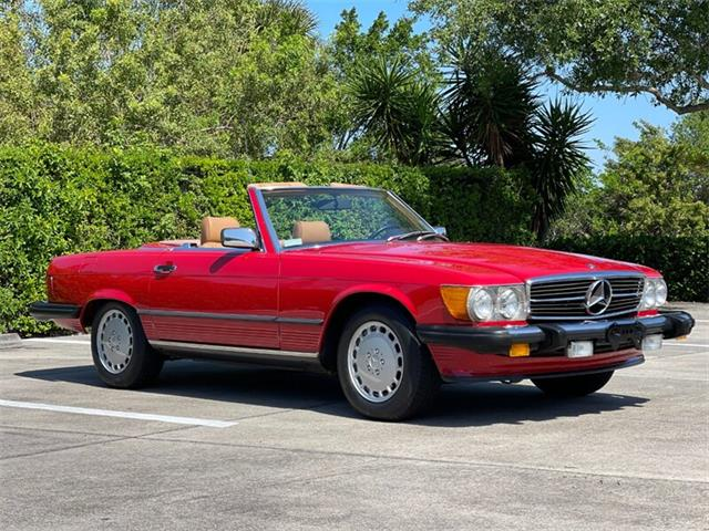 1987 Mercedes-Benz 560SL (CC-1504829) for sale in Boca Raton, Florida