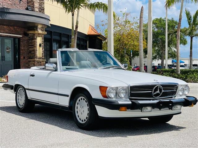 1988 Mercedes-Benz 560SL (CC-1504831) for sale in Boca Raton, Florida