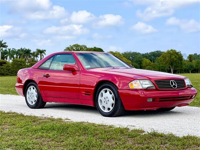 1996 Mercedes-Benz SL500 (CC-1504833) for sale in Boca Raton, Florida