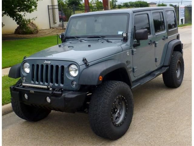 2014 Jeep Wrangler (CC-1504983) for sale in Arlington, Texas