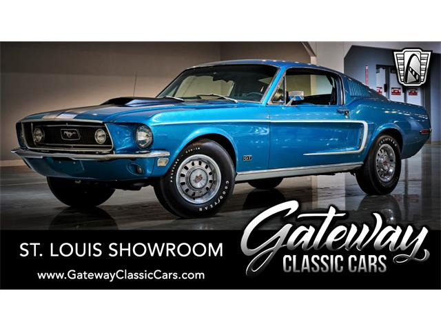 1968 Ford Mustang (CC-1505090) for sale in O'Fallon, Illinois