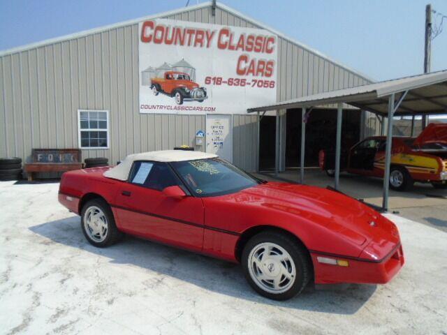 1989 Chevrolet Corvette (CC-1505218) for sale in Staunton, Illinois