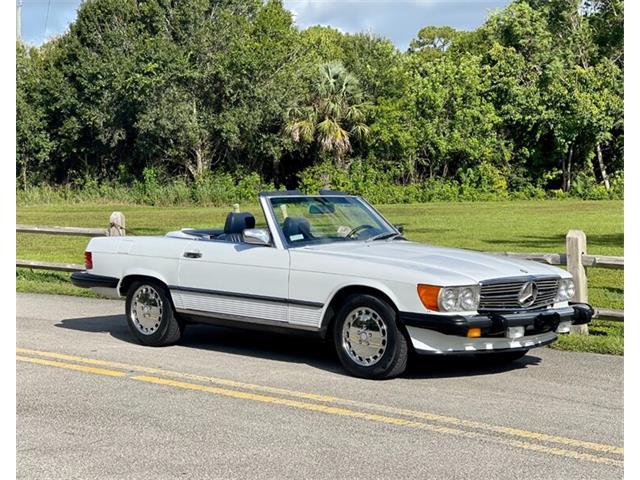 1987 Mercedes-Benz 560SL (CC-1505349) for sale in Boca Raton, Florida