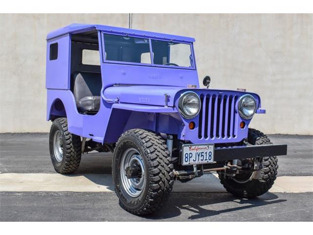 1946 Willys CJ2 (CC-1505503) for sale in Costa Mesa, California