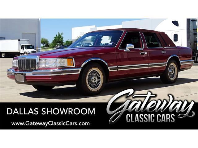 1990 Lincoln Town Car (CC-1505510) for sale in O'Fallon, Illinois
