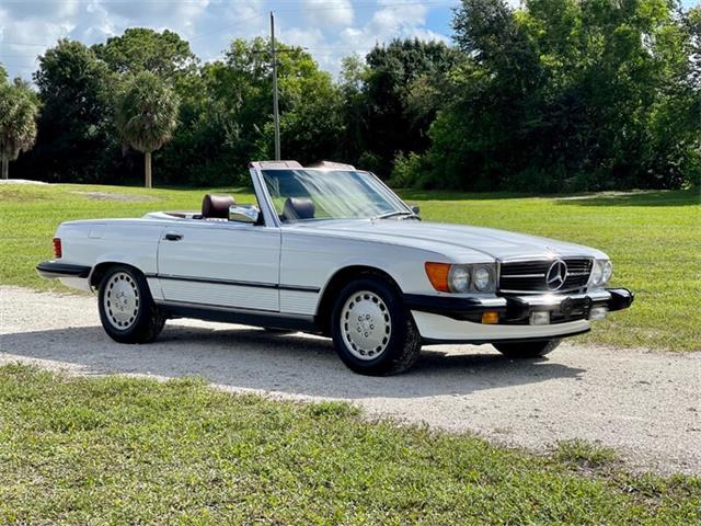1988 Mercedes-Benz 560SL (CC-1505530) for sale in Boca Raton, Florida