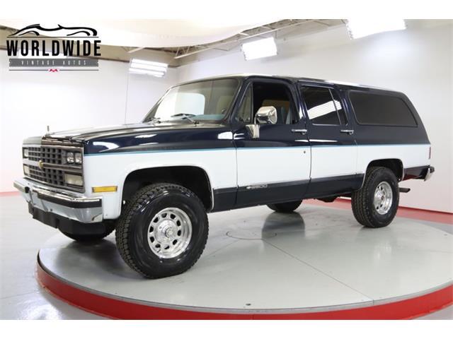 1989 Chevrolet Suburban (CC-1505751) for sale in Denver , Colorado
