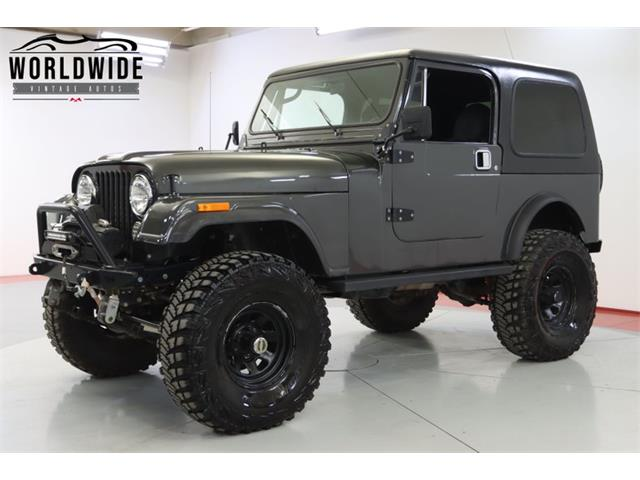 1984 Jeep CJ (CC-1505765) for sale in Denver , Colorado