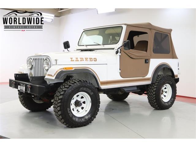 1983 Jeep CJ (CC-1505767) for sale in Denver , Colorado