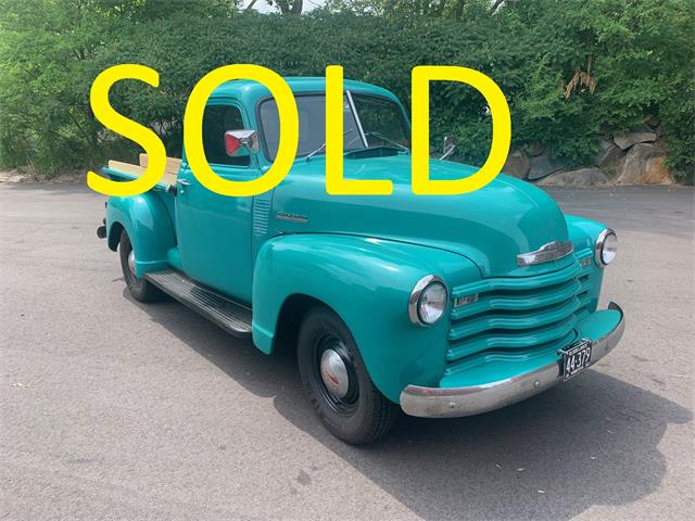 1950 Chevrolet 3100 (CC-1505887) for sale in Annandale, Minnesota