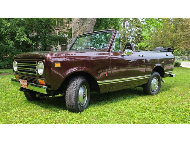 1972 International Harvester Scout II (CC-1505998) for sale in Berkley, Michigan