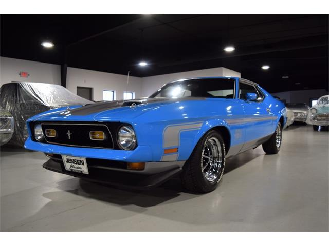 1972 Ford Mustang Mach 1 (CC-1506034) for sale in Sioux City, Iowa