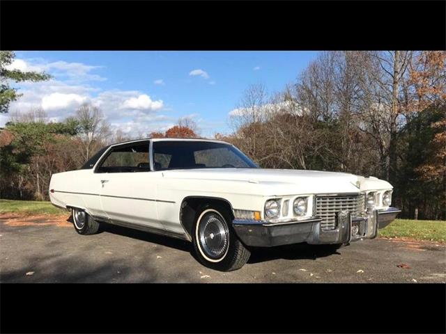 1972 Cadillac Coupe DeVille (CC-1506228) for sale in Harpers Ferry, West Virginia