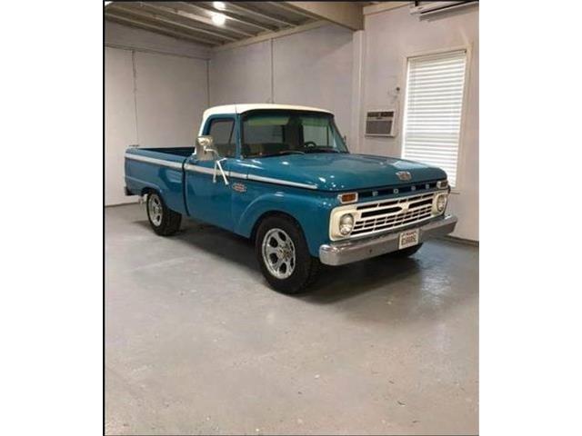 1966 Ford F100 (CC-1506409) for sale in Cadillac, Michigan
