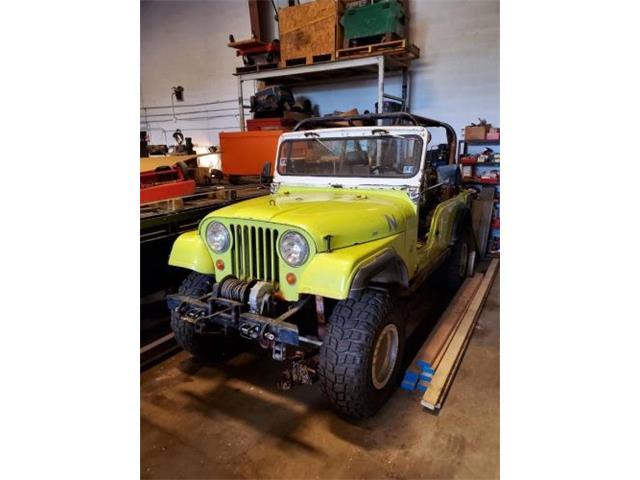 1967 Jeep CJ6 (CC-1506481) for sale in Cadillac, Michigan