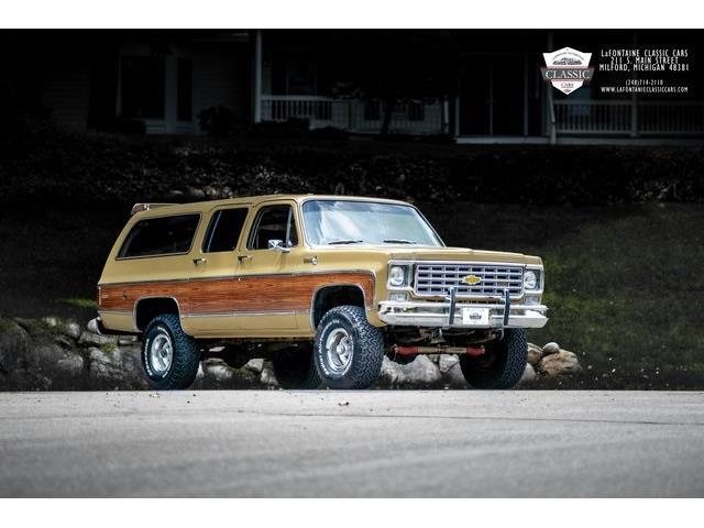 1976 Chevrolet Suburban (CC-1506512) for sale in Milford, Michigan