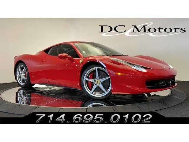 2010 Ferrari 458 (CC-1506596) for sale in Anaheim, California