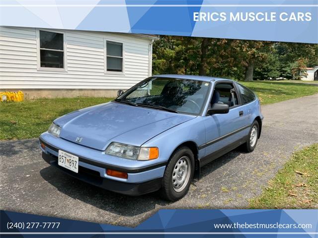 1989 Honda CRX (CC-1506642) for sale in Clarksburg, Maryland