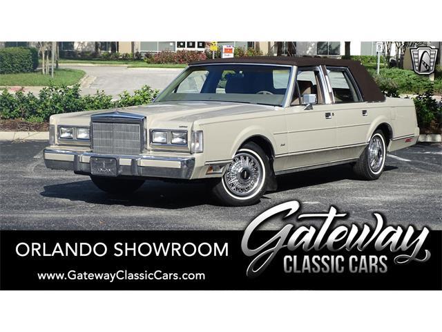1988 Lincoln Town Car (CC-1506718) for sale in O'Fallon, Illinois