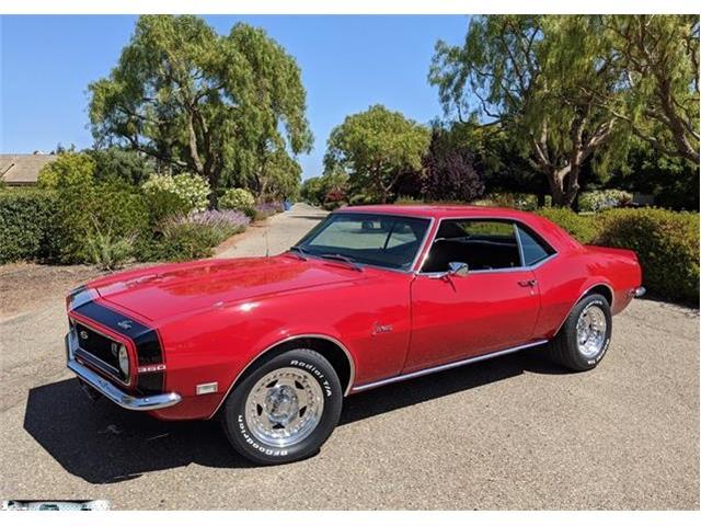 1968 Chevrolet Camaro (CC-1506801) for sale in San Luis Obispo, California