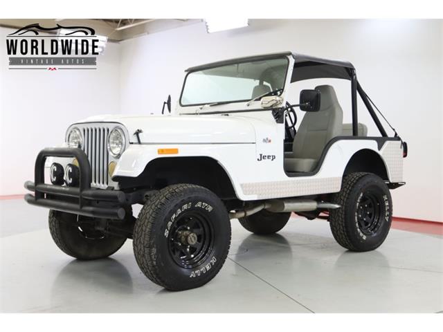 1973 Jeep CJ (CC-1506837) for sale in Denver , Colorado
