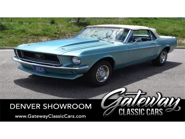 1968 Ford Mustang (CC-1506838) for sale in O'Fallon, Illinois