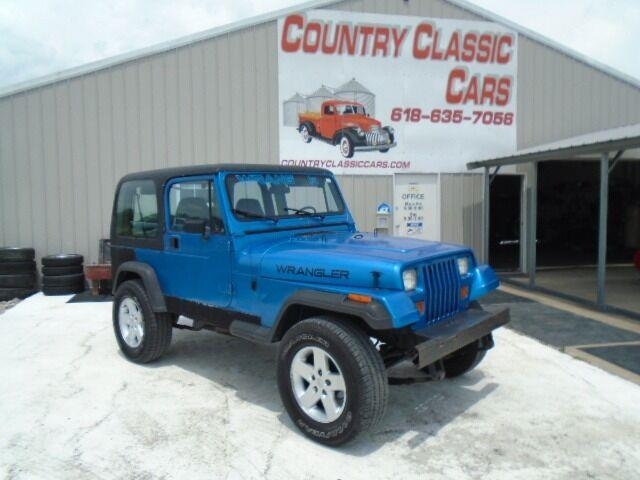 1993 Jeep Wrangler (CC-1506876) for sale in Staunton, Illinois