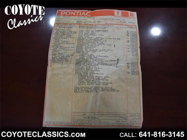 1980 Pontiac Firebird Trans Am (CC-1506998) for sale in Greene, Iowa