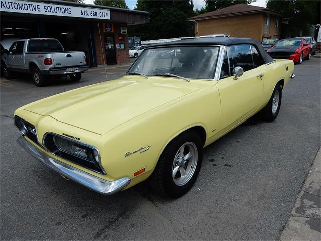 1969 Plymouth Barracuda (CC-1507102) for sale in Ottawa, Ontario