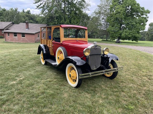 1930 Ford Station Wagon Woody (CC-1507280) for sale in Ellington, Connecticut