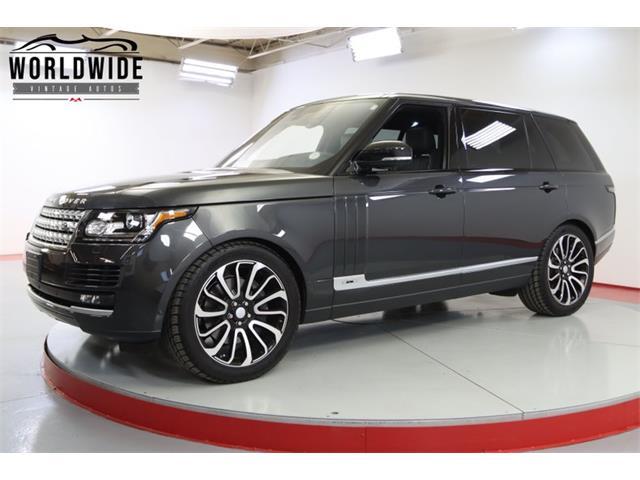 2016 Land Rover Range Rover (CC-1507432) for sale in Denver , Colorado