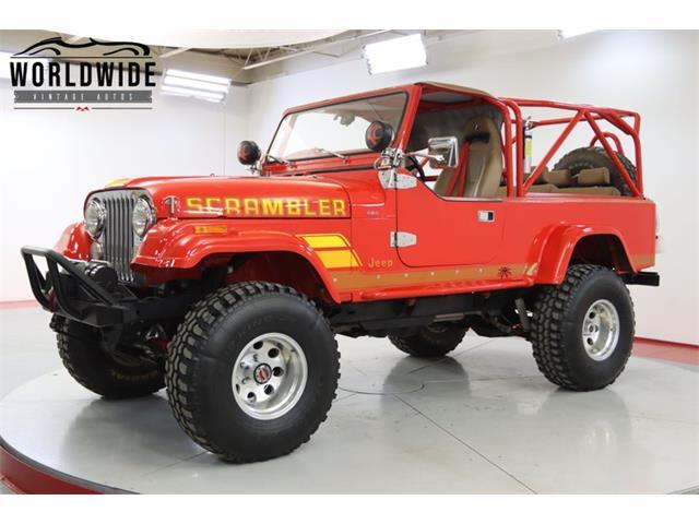 1982 Jeep CJ8 Scrambler (CC-1507483) for sale in Denver , Colorado