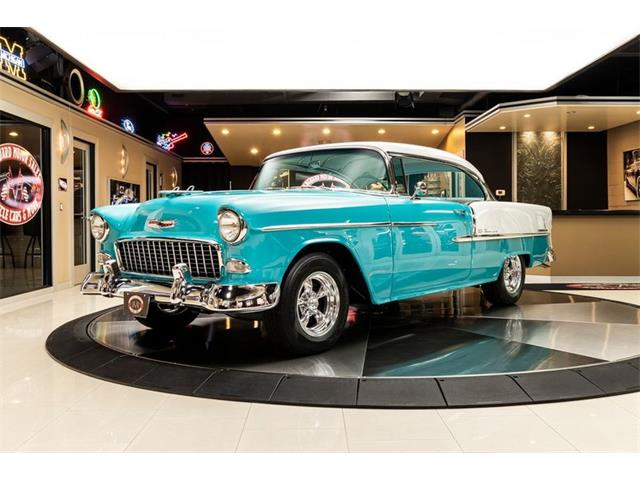 1955 Chevrolet Bel Air (CC-1507541) for sale in Plymouth, Michigan