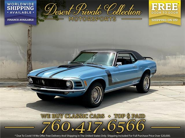 1970 Ford Mustang (CC-1507793) for sale in Palm Desert , California