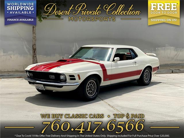 1970 Ford Mustang (CC-1507797) for sale in Palm Desert , California