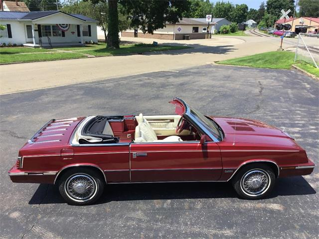 1985 Chrysler LeBaron (CC-1507825) for sale in UTICA, Ohio