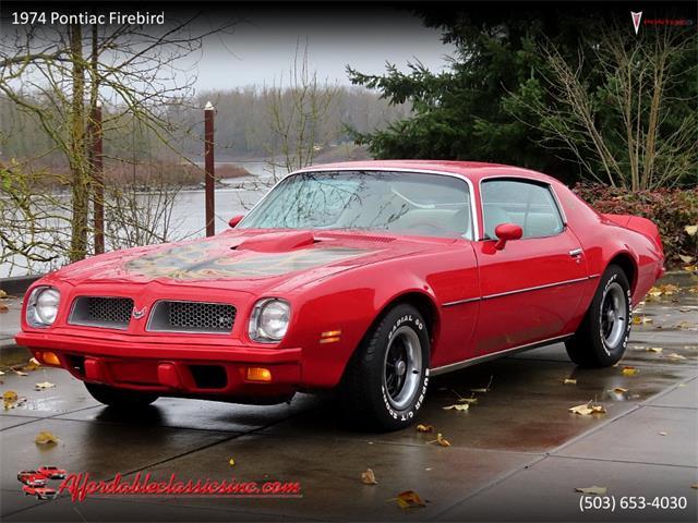 1974 Pontiac Firebird (CC-1508187) for sale in Gladstone, Oregon