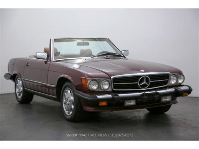 1986 Mercedes-Benz 560SL (CC-1508360) for sale in Beverly Hills, California