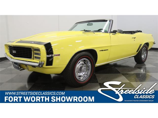 1969 Chevrolet Camaro (CC-1509066) for sale in Ft Worth, Texas