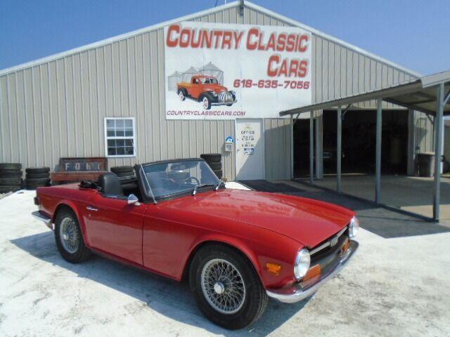 1969 Triumph TR6 (CC-1509162) for sale in Staunton, Illinois