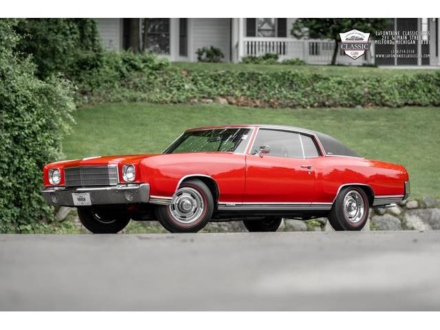1970 Chevrolet Monte Carlo SS (CC-1509203) for sale in Milford, Michigan