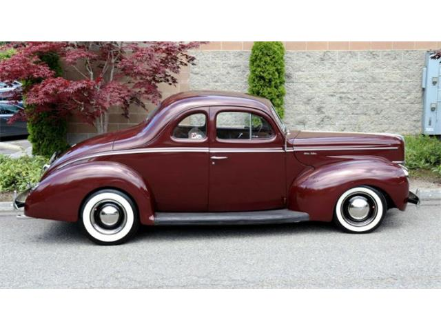 1940 Ford Deluxe (CC-1509305) for sale in Cadillac, Michigan