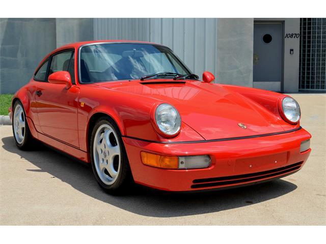 1992 Porsche 911 Carrera (CC-1509532) for sale in Houston, TX - Texas