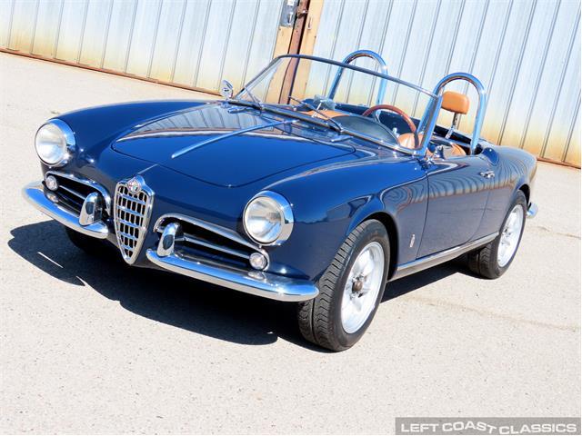 1959 Alfa Romeo Giulietta Spider (CC-1509547) for sale in Sonoma, California