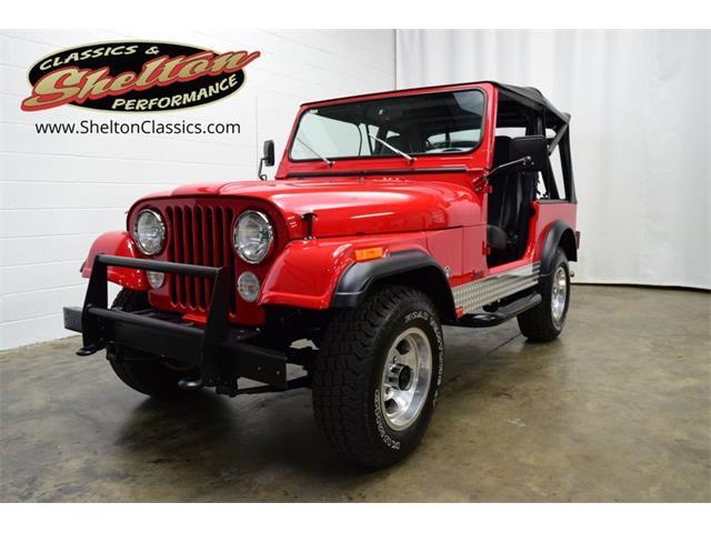 1981 Jeep CJ (CC-1509648) for sale in Mooresville, North Carolina