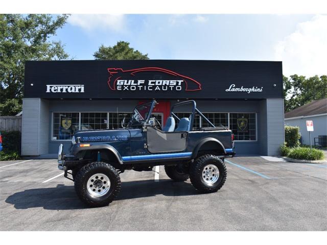 1982 Jeep CJ7 (CC-1509693) for sale in Biloxi, Mississippi